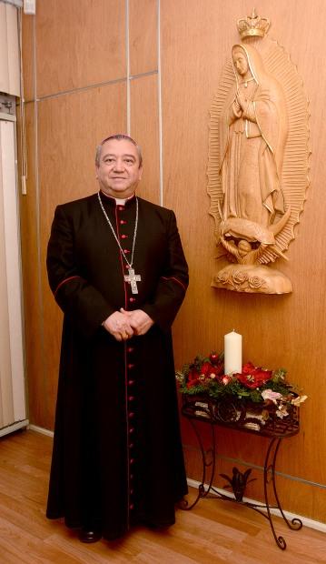 Monseñor Francisco Moreno Barron.- Arzobispo de la Arquidiocesis de Tijuana