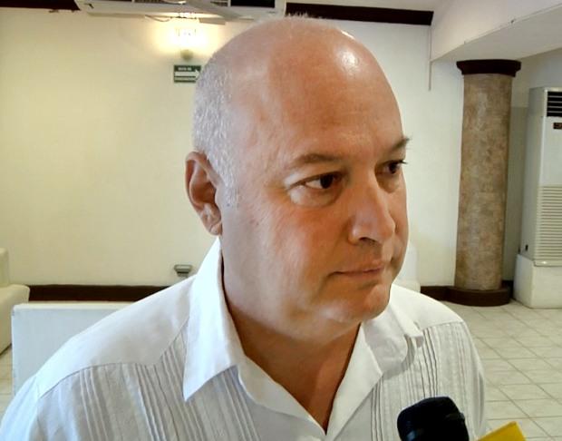 Fabricio Gonzalez, presidente de COPARMEX BCS, temen que la violencia genere en cobro de piso y extorsiones si se sale de las manos de las autoridades