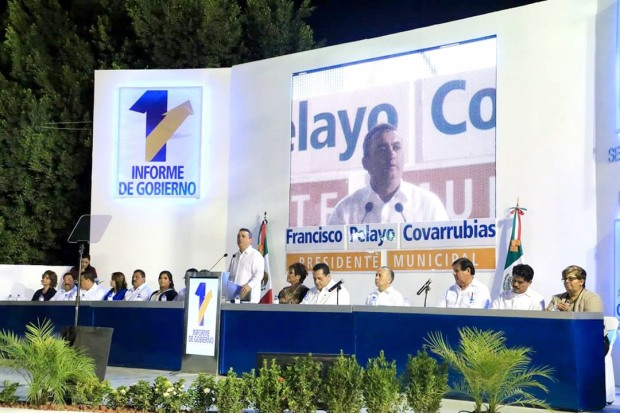Francisco Pelayo Covarrubias, alcalde de Comondu sin mucho que mencionar, los hechos violentos se frenaron desde octubre pasado