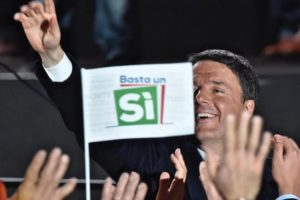 Italian Costitutional Referendum - Yes campaign