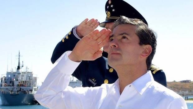 Peña Nieto despisten candidato PRI