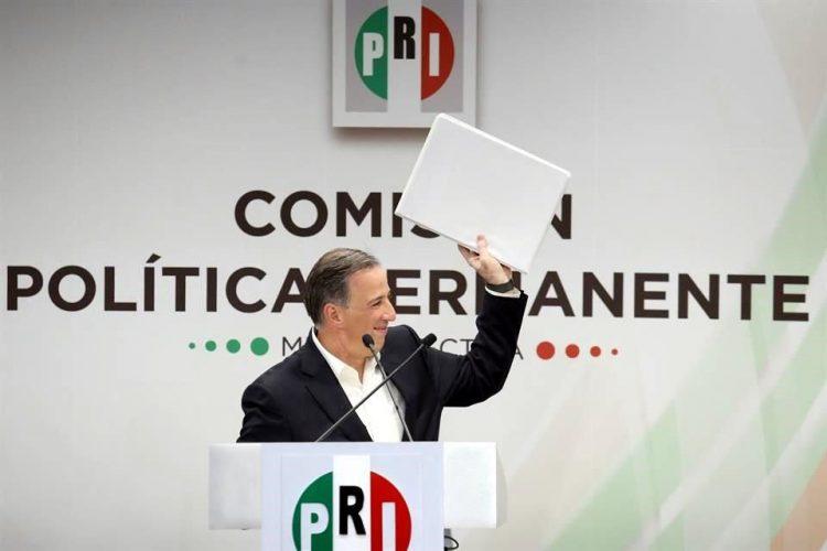 México en deuda con el PRI, dice Meade