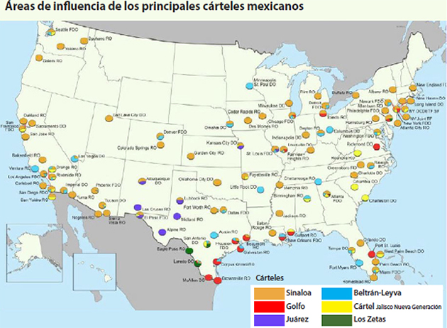 Borderland Beat: Tijuana, the strongest CJNG border plaza