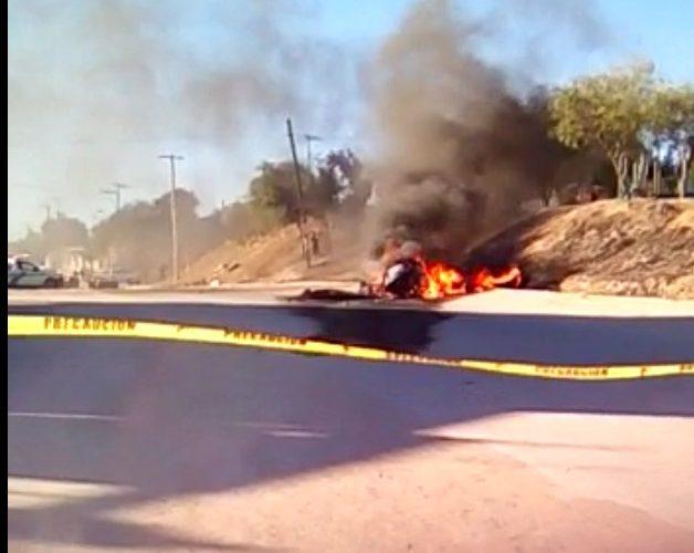 En plena persecución se desploma helicóptero de la SSP de Tijuana — FOTOS