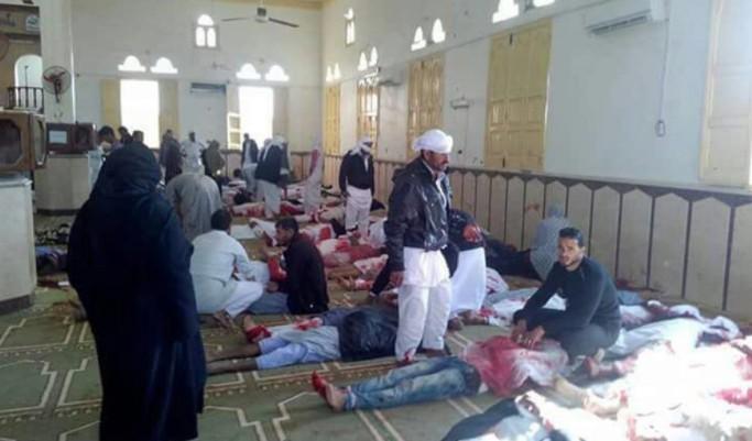 Ataque Mezquita Sinaí Egipto