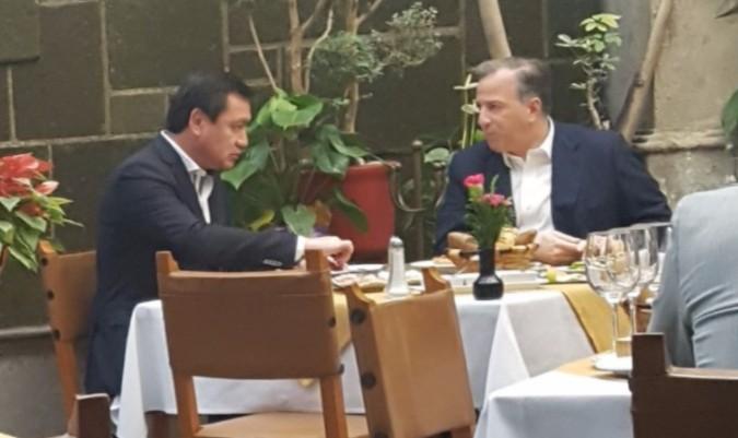 Osorio Chong se reunió con Meade