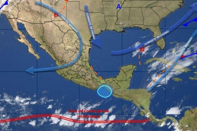 Lluvias y vientos Baja California