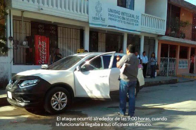 Foto: Cortesía/ Yendi González, Fiscal Especializada en Delitos Sexuales, del municipio de Pánuco, fue asesinada hoy lunes