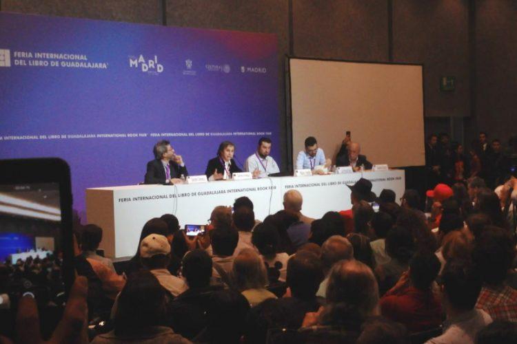 Aristegui en la FIL