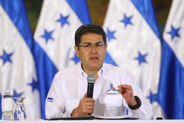 Hernández reelección Honduras