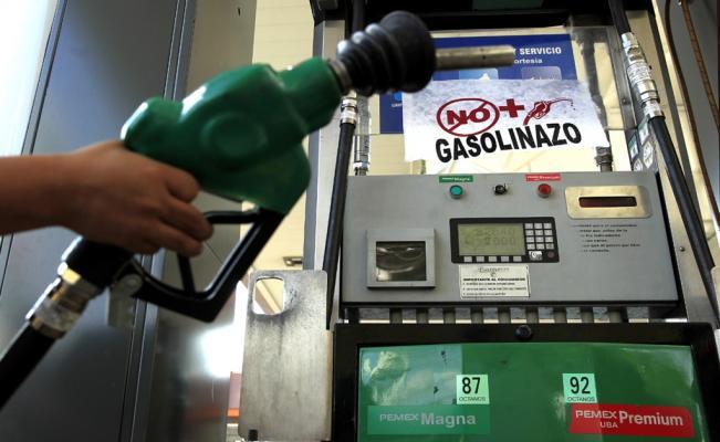 Gasolina aumentó después de liberación de precios