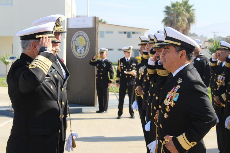 Jorge Luis Cruz Ballado asume Comandancia de la Segunda Región Naval