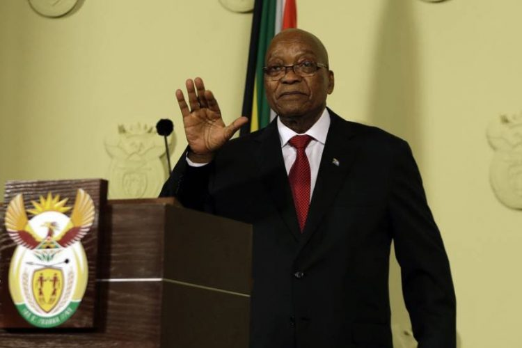 Partido de Mandela da hasta mañana a Zuma para que dimita