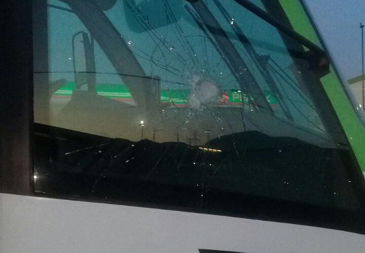 'Encapuchados' atacan unidades del SITT, rompen vidrios