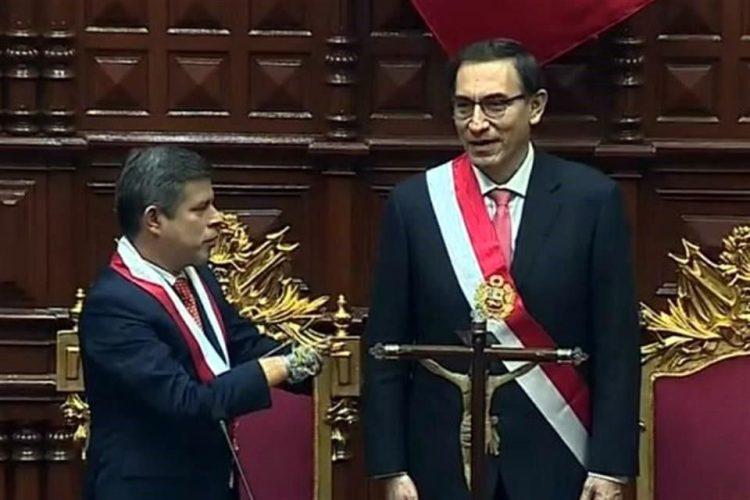 Martín Vizcarra asume presidencia de Perú en sustitución de Pablo Kuczynski