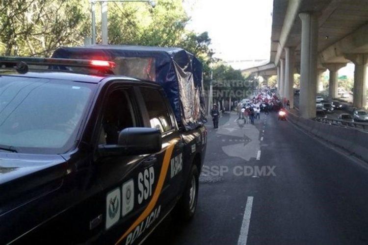 Afectan transportistas Valle de México