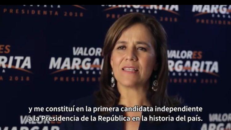 Margarita Zavala se retira de contienda electoral — Texcoco Elecciones