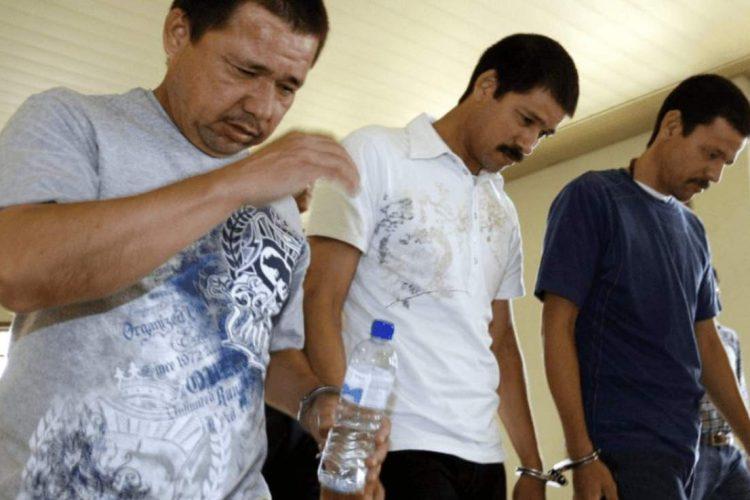 Mexicanos acusados de narcotráfico en Malasia libran pena capital