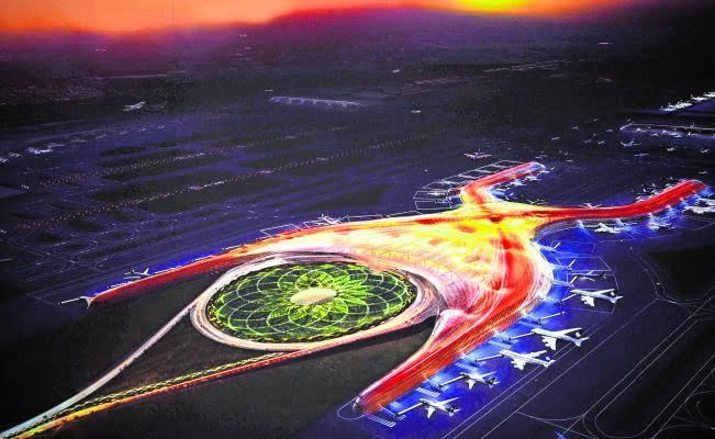 Obras de Nuevo Aeropuerto Internacional de México continuarán