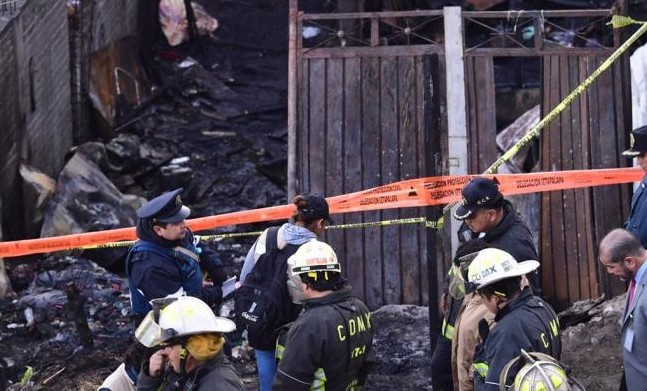 Fueron siete los niños calcinados en incendio en Iztapalapa, CIudad de México