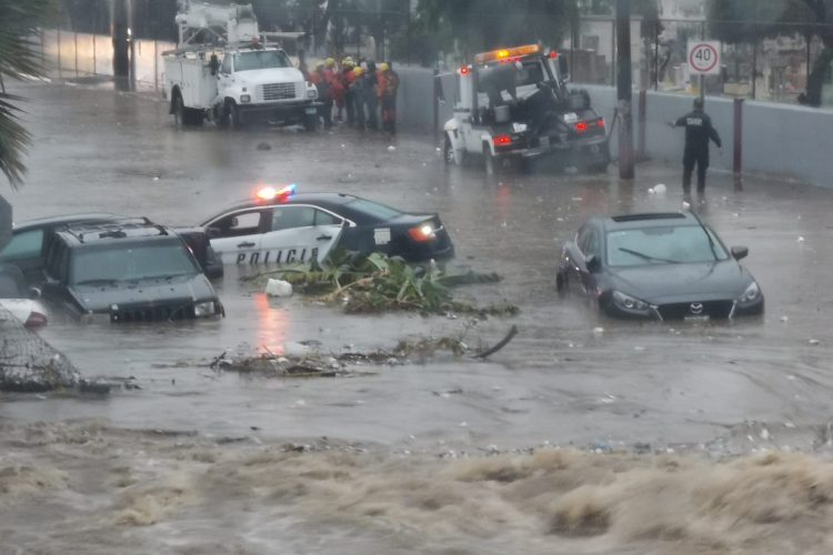 Resultado de imagen para lluvia en tijuana