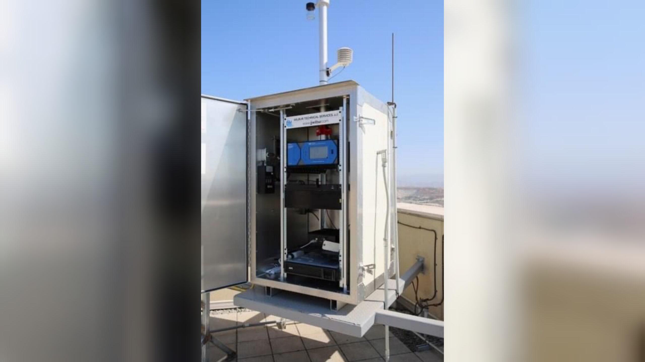 Consulado de EU en Tijuana inaugura monitor de calidad del aire. Noticias en tiempo real