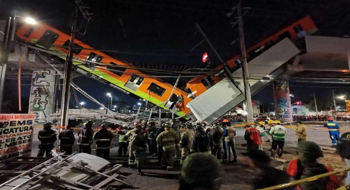Fiscalía CDMX imputará homicidio, lesiones y daño a la propiedad por colapso de Línea 12. Noticias en tiempo real